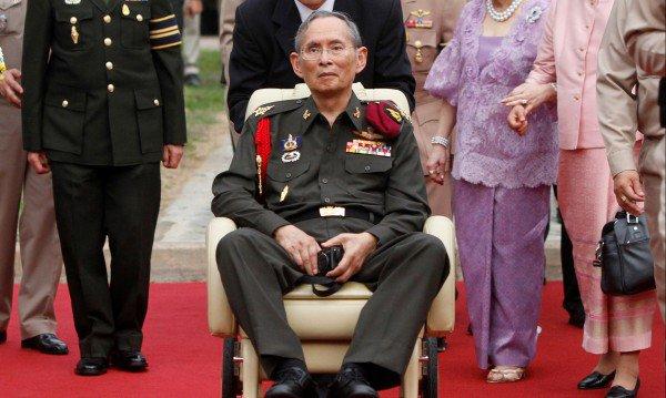 Почина кралят на Тайланд