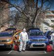 Дариха 8 автомобила за дезинфекция и доставките на храни в София