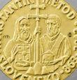 Словакия слага Кирил и Методий на монети