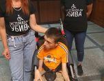 Караянчева отказа да пусне Христо, който е с ДЦП, до тоалетната на парламента
