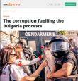 България стана шампион по корупция: EUObserver