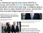 Бг премиер влезе в предизборен скандал в Германия